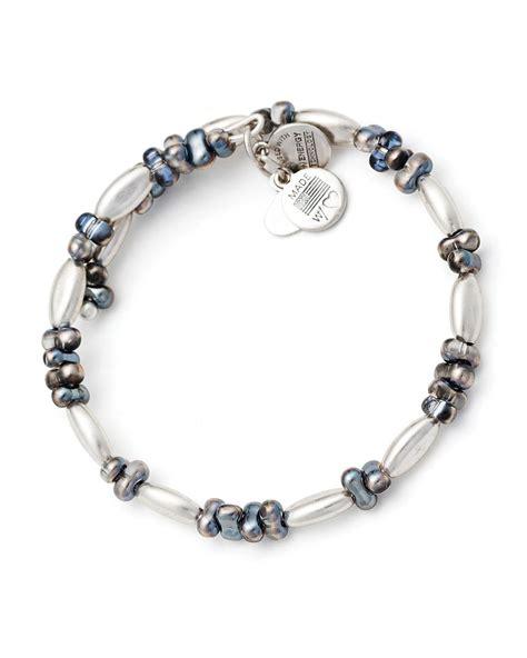 alex alex and ani vintage 66 spark wrap bracelet