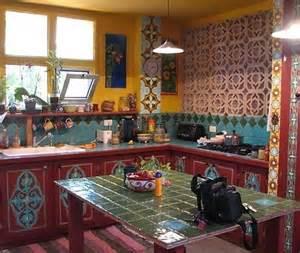 Mexican Tile Kitchen Backsplash 1000 Ideas About Bohemian Kitchen On Pinterest Bohemian