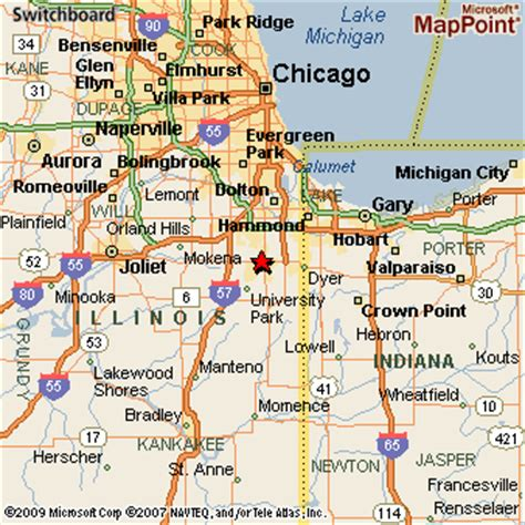 Chicago Heights Map by Chicago Heights Illinois