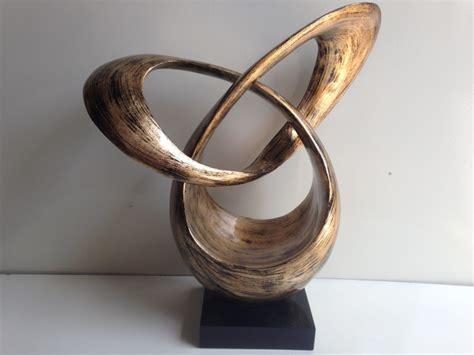 home sculptures ht3604 silver leaf orbit contemporary sculpture ha thai