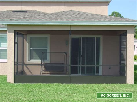 Patio Screen Frame by Porch Frame In Kc Screen