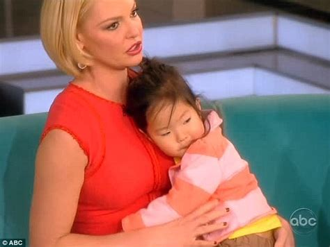 Katherine Heigls Steals The Show by Katherine Heigl On The View Naleigh Steals The Show From