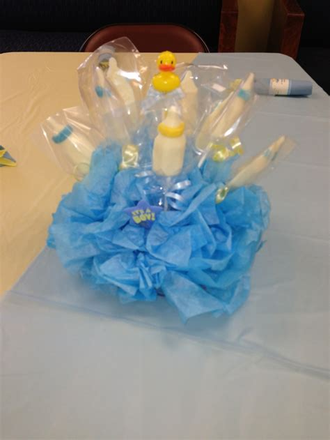 centerpieces baby duck baby shower theme