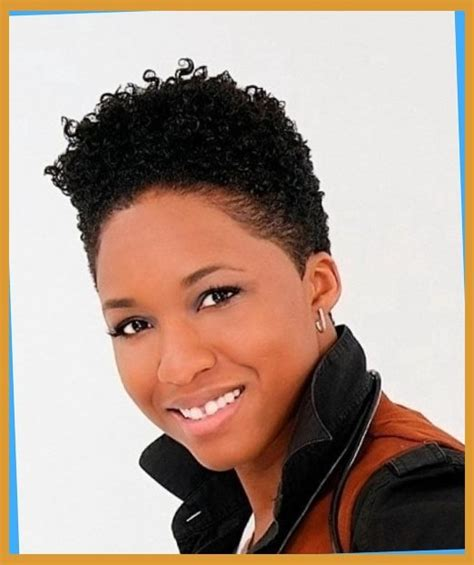 short tered cut for naturals black short natural hairstyles for black women inside short