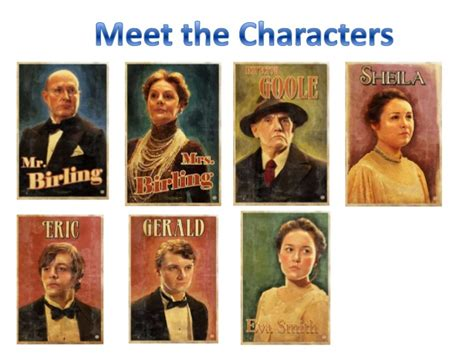 analysis of an inspector calls characters an inspector calls by j b priestley gcse exam revision