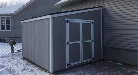 lean  sheds  sale canadian  north country sheds