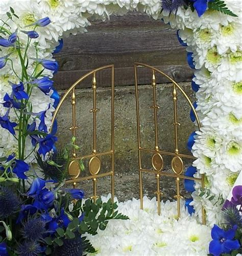 Gates Of Heaven Funeral Home by Gates Of Heaven Blue Funeral Flowers Southend