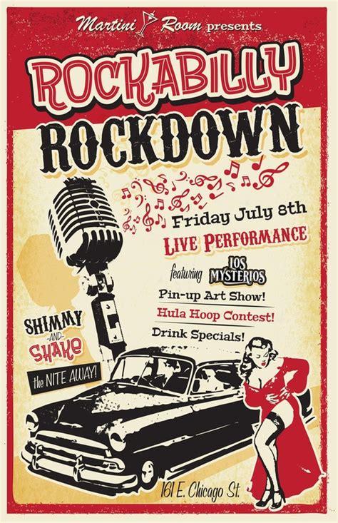 rockabilly rockdown martini room 161 e chicago st