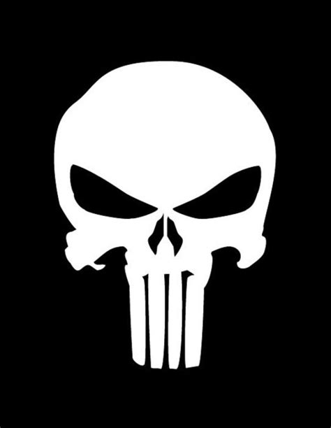 punisher stencil stencil island pieces