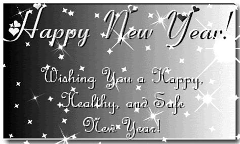 happy new year wishing you a happy healthy and safe new year