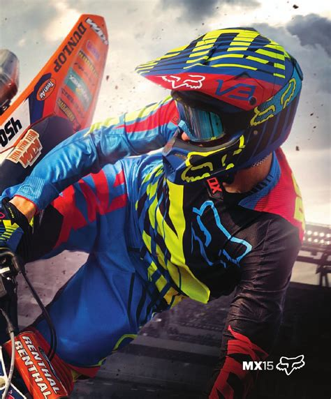 motocross fox fox mx15 by monza imports issuu