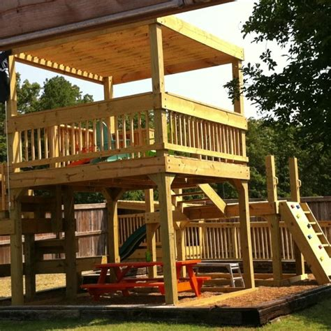 new clubhouse and playground kiddos