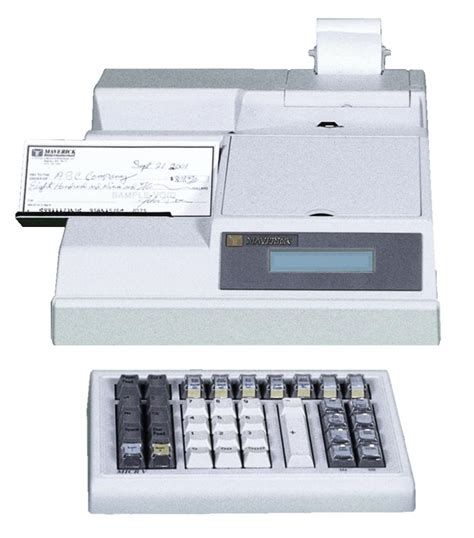 Micr Encoding Machine by Maverick Micr V Series Encoders Available At Unilink