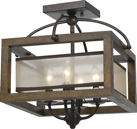 cal fx 3536 1c mission wood ceiling lighting cal fx 3536 1c