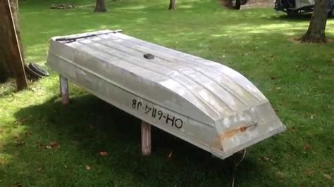 flat bottom boat mods jon boat makeover 10ft r part 1 youtube
