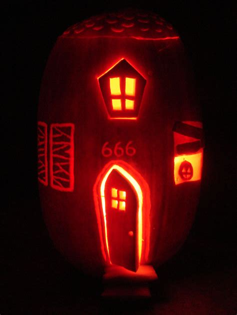 haunted house pattern for pumpkin carving haunted house pumpkin by aprilmcguire on deviantart