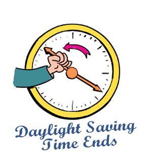 Calendar When Is Daylight Savings Time Daylight Saving Time Ends Calendar History Events