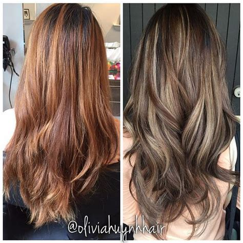 lowlights vs highlights brunettes for her sisters and hair on pinterest