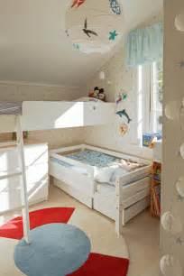ideen kleines kinderzimmer platzsparendes kinderzimmer f 252 r 2 kinder au 223 en und innengestaltung kinderzimmer
