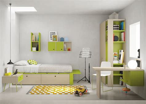 children s bedroom composition 09 contemporary childrens