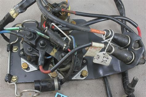 omc    cobra ford  wire wiring harness solenoi nla marine