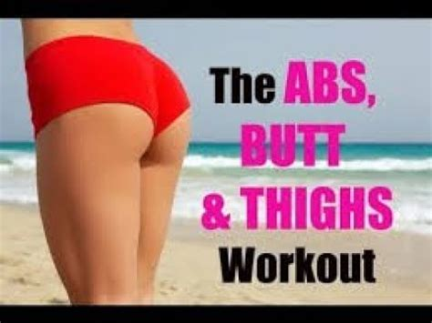 abs thighs workout for
