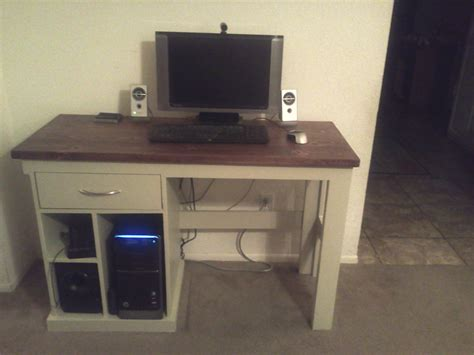 ana white computer desk diy projects