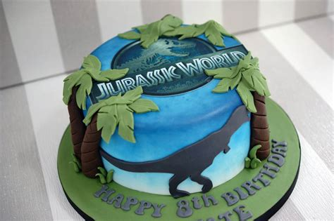 Simple Birthday Party Decorations At Home jurassic world 8th birthday cake bakealous