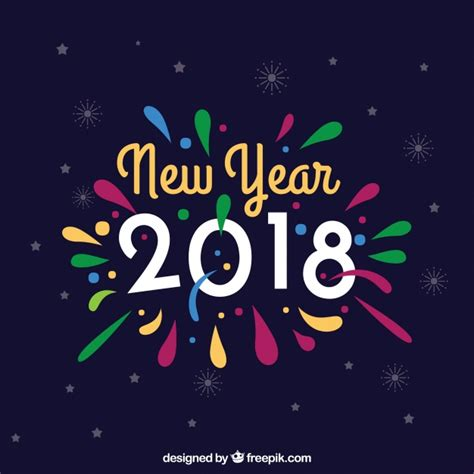 new year background free vector colorful new year background vector free