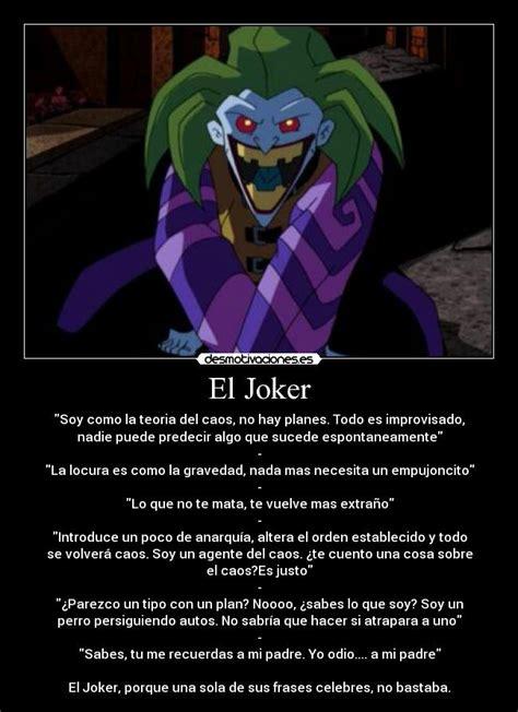 imagenes de el joker con fraces las mejores frases del joker taringa