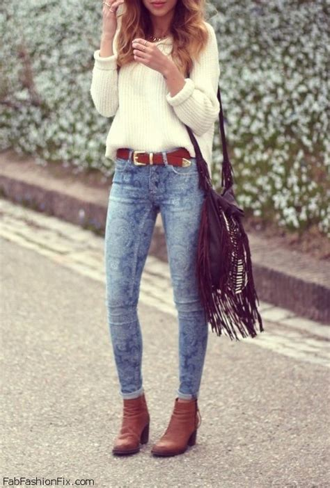 stylish street style chic autumn outfit inspirations