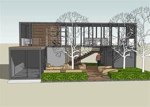 Container Home Design Uk by Sketchup Plans For Container House Joy Studio Design