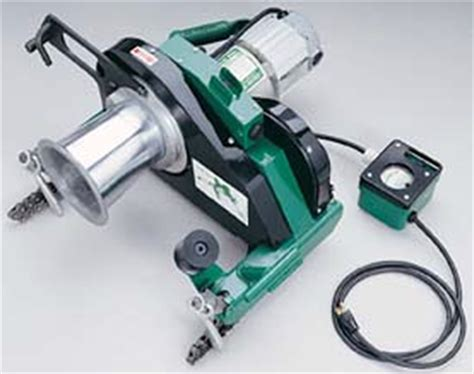 electrical wire puller hanes supply greenlee tugger cable puller model 6003