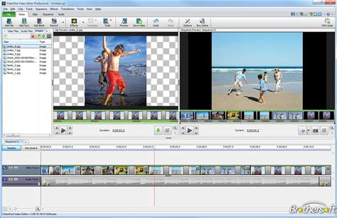 window software videopad video editor free download
