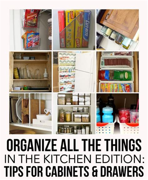 how to organize drawers and organized kitchen on