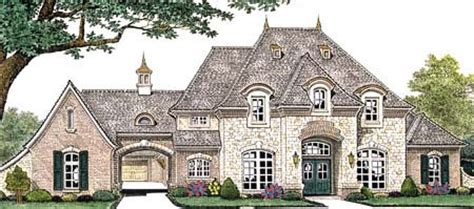 Symmetrical Floor Plans House Plan 66235 French Country Plan With 3769 Sq Ft