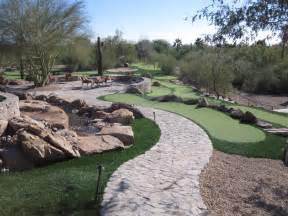 Backyard Putting Green Designs Southwest Greens Of The Valley