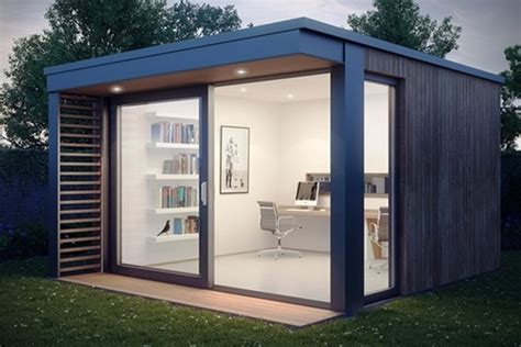 Shed Office Ideas by Creative Garden Rooms Garden Shed And Garden Pod Design Ideas