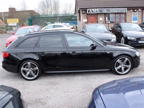 Audi A4 Avant Black Edition by Audi A4 Avant 2 0 Tdi 177 Black Edition 5dr For Sale From