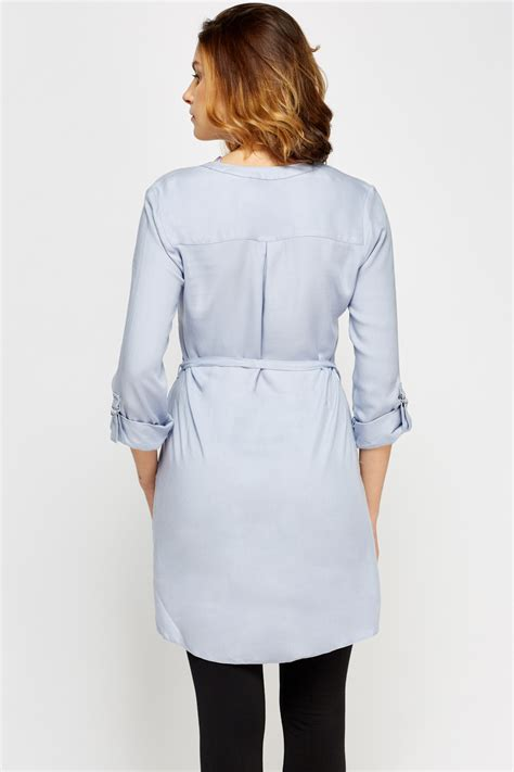 Blue Dress Shirt Tie by Light Blue Tie Up Shirt Dress Just 163 5