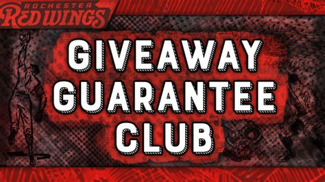 Red Wings Giveaways - join the red wings giveaway guarantee club milb com