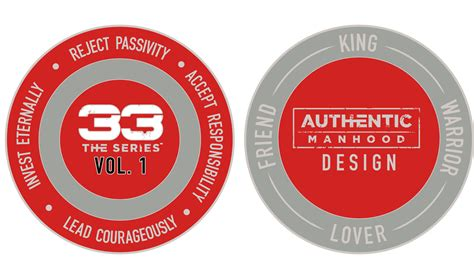 The Series Volume 1 33 the series volume 1 coin authentic manhood