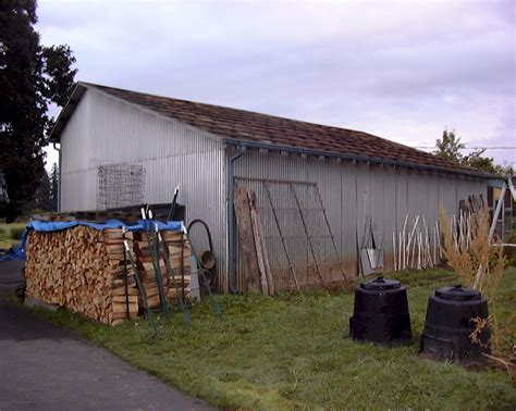 How To Reroof A Shed outbuilding repair and maintenance projects 2004 dunton family farm