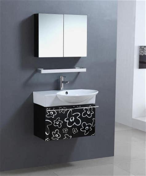30 black bathroom vanity 30 inch wall mount single sink bathroom vanity in black