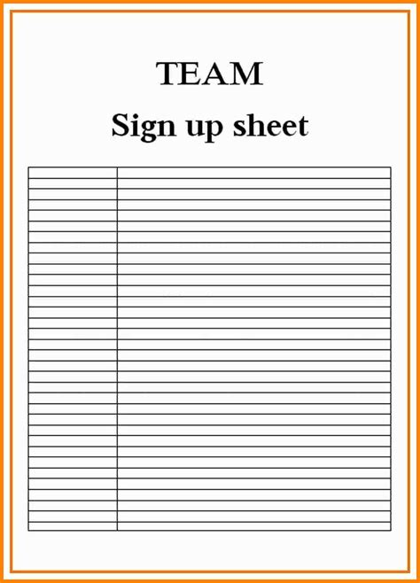 11 blank sign up sheets dialysis nurse