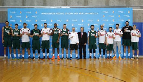 cuadro medico de sanitas en madrid los jugadores del real madrid de baloncesto y pablo laso