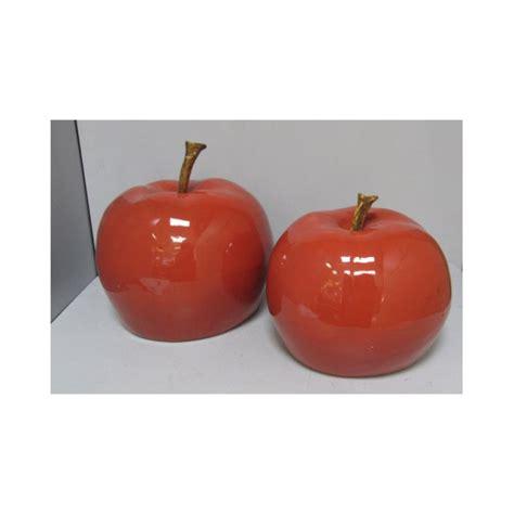 complementi d arredo firenze mela ceramica cm 33x33x26 21301173 complementi d