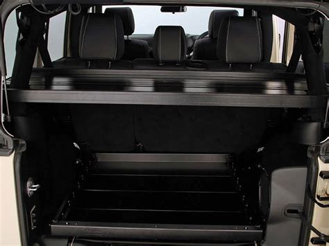 Jeep Cargo Racks Jeep Wrangler Jku 4 Door Cargo Storage Interior Rack By