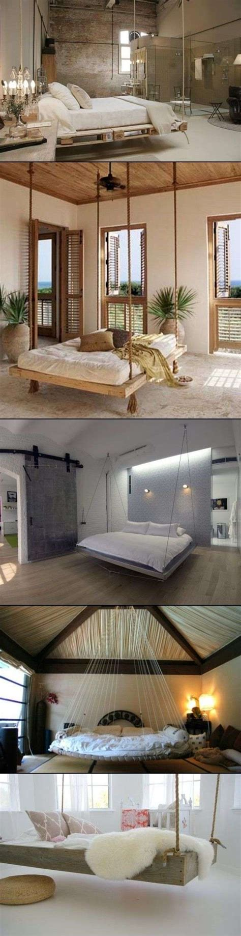 Hanging Pallet Bed by Amazing Interior Design
