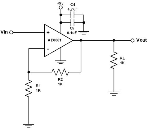 op buffer with resistor op buffer resistor 28 images op how to correct instability of op voltage follower electrical